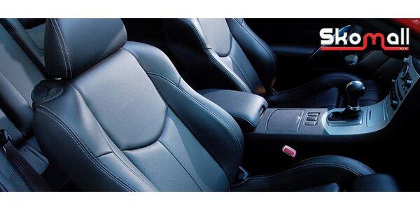 Kompletné čistenie interiéru auta