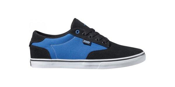 Pánske modro-čierne tenisky DVS