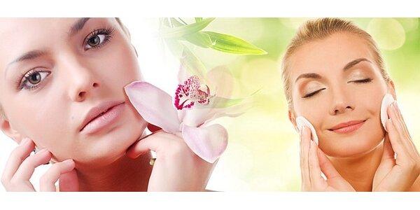 Peeling a ošetrenie pleti prírodnou kozmetikou