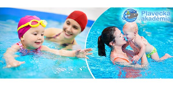 Plávanie pre deti od 6 mesiacov do 3 rokov