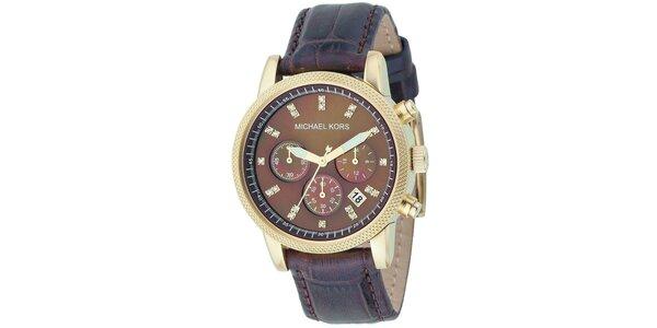 Dámske hodinky s chronografom Michael Kors