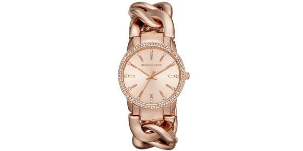 Dámske hodinky s originálnym remienkom Michael Kors