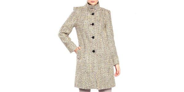Dámsky kabát s gombíkovým zapínaním Vera Ravenna
