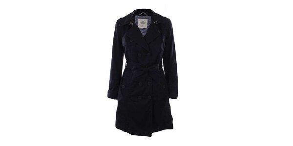 Dámsky tmavý kabát Timeout
