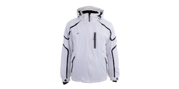 Pánska biela softshellová bunda Joluvi