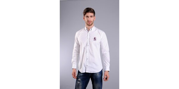 Pánska biela košeľa Giorgio di Mare