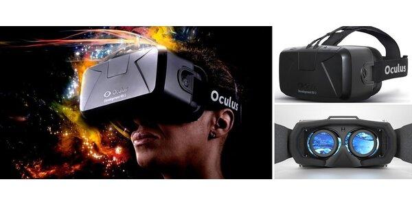 Virtuálna realita v podaní Oculus Rift DK2