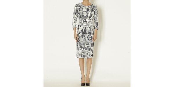 Dámske šaty s Vogue potlačou Chaser