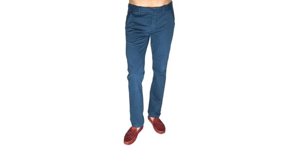 Pánske modré nohavice Giorgio di Mare
