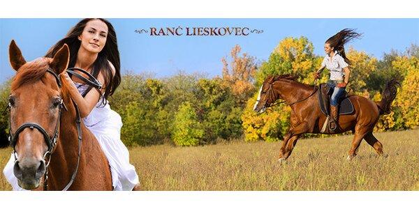 Lekcia jazdenia (30 min.) a vychádza na koni (60 min.)