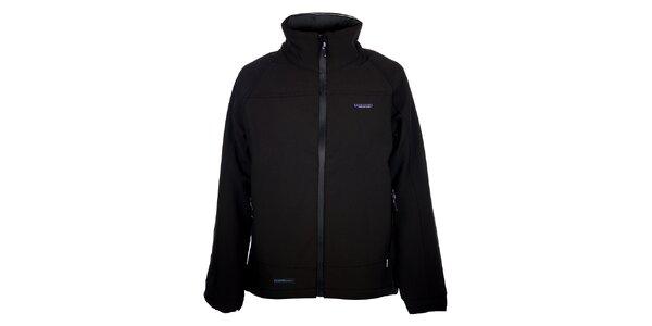 Dámska čierna zimná softshellová bunda 3v1