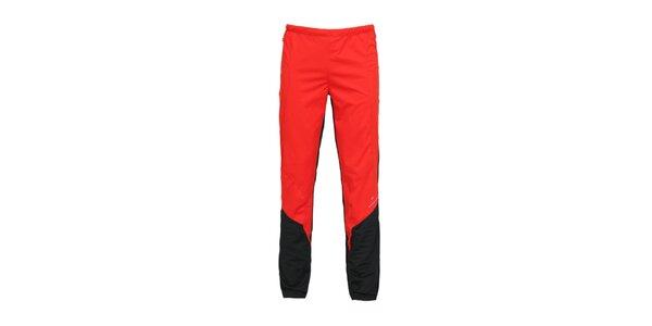 Pánske červené softshellové nohavice Bergson