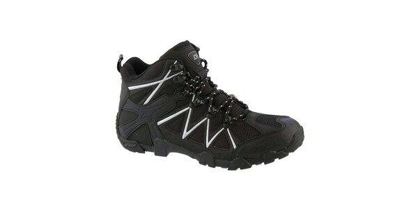 Pánske čierne outdoorové topánky Crosby
