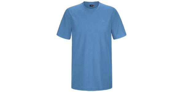 Pánske modré funkčné tričko s krátkym rukávom Maier