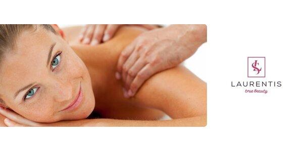 60 minútová masáž na uvoľnenie stuhnutej chrbtice