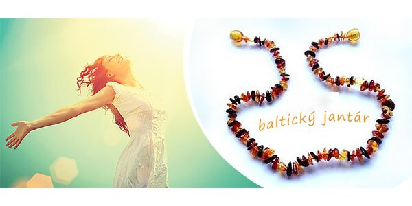 Krásne náhrdelníky pre deti z baltického jantáru