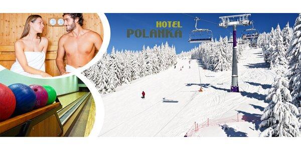 Lyžovačka v Beskydách pre dvoch - Hotel Polanka