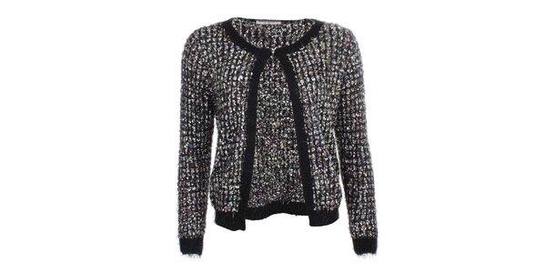 Dámsky sveter s čiernym lemovaním Beauty Women