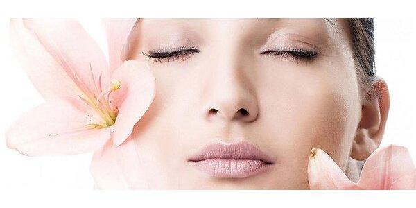 60 minútové ošetrenie pleti s ručnou masážou tváre