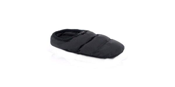 Čierne domáce papuče Kimberfeel