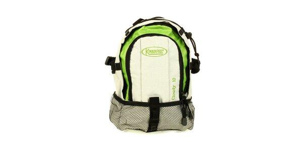 Zeleno-béžový ruksak Kimberfeel