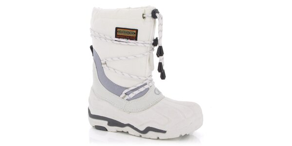 Zimné topánky Kimberfeel - biele