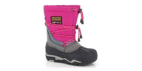 Zimné topánky Kimberfeel - fuchsiové