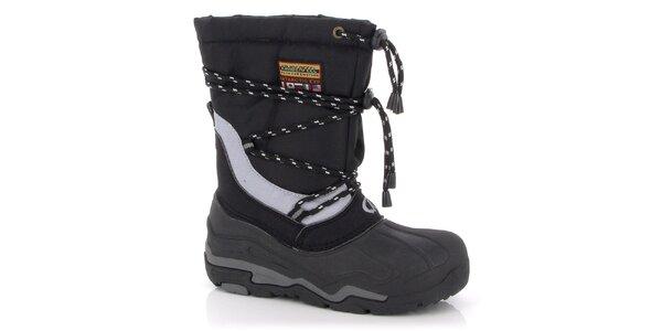 Zimné topánky Kimberfeel - čierne
