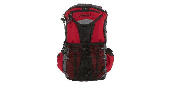 Červený ruksak Kimberfeel