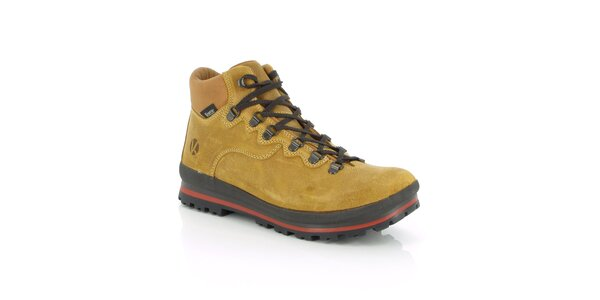 Pánske zimné vodotesné béžové topánky Kimberfeel
