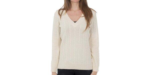 Dámsky vlnený sveter so vzorom Tommy Hilfiger