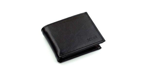 Pánska čierna peňaženka Solier