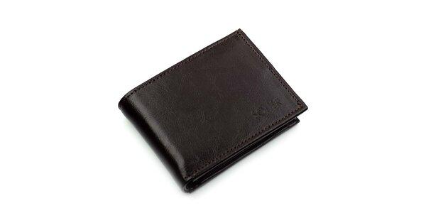 Pánska hnedá peňaženka Solier