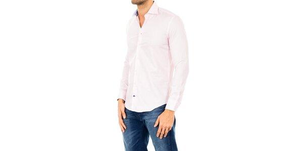 Pánska svetlo ružová košeľa Tommy Hilfiger
