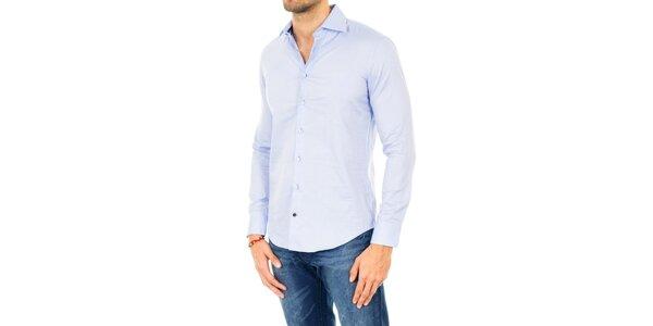 Pánska svetlo modrá košeľa Tommy Hilfiger