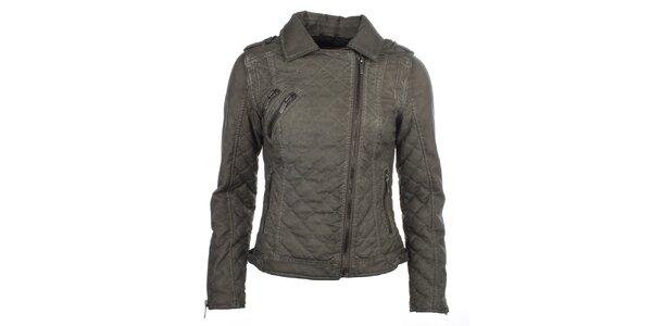 Dámska šedá bunda s prešívaním COMPANY&CO