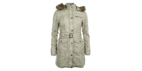 Dámsky svetlý kabát ECI