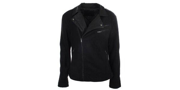 Dámska čierna bunda ECI