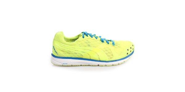 Pánske modro-žlté športové tenisky Puma
