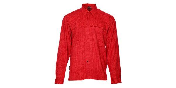 Pánska červená kockovaná košeľa Hannah
