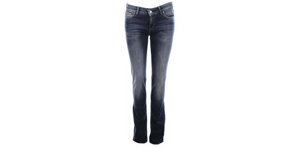 Dámske šisované modré džínsy Big Star