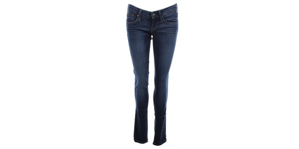 Dámske modré elastické džínsy Big Star