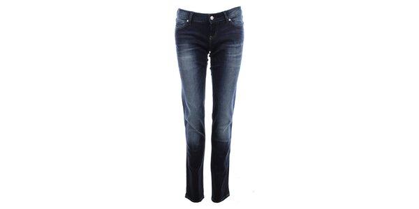 Dámske tmavo modré šisované džínsy Big Star