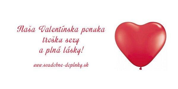 Valentínske dekorácie, ktoré Vás potešia