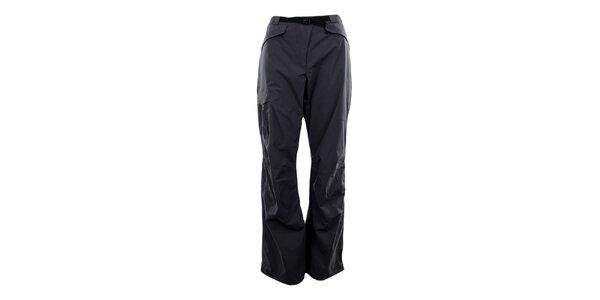 Dámske tmavo šedé membránové nohavice Hannah