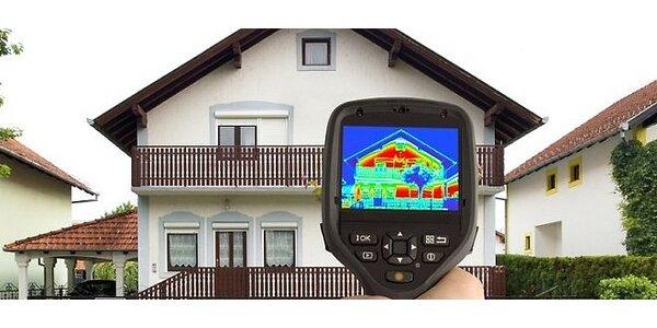 Termovízne meranie rodinného domu, bytu či paneláku
