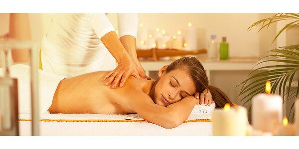 Hodinová uvoľňujúca masáž celého tela