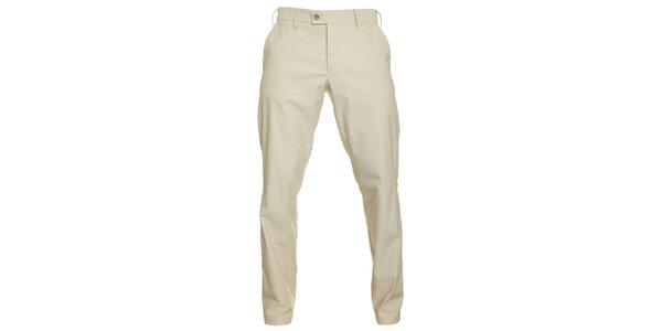 Pánske krémové chino nohavice Pietro Filipi