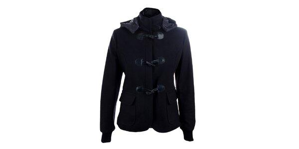 Dámsky tmavo modrý vlnený kabátik Phard