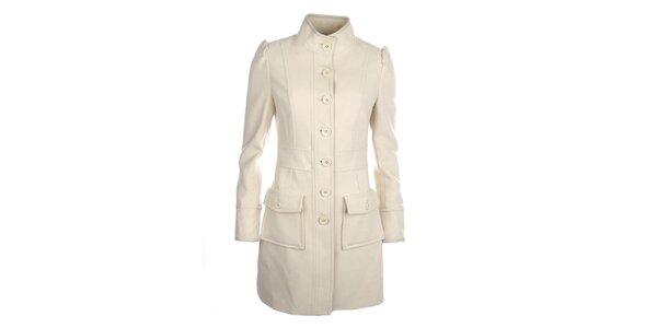 Dámsky smotanový kabátik Phard